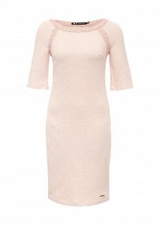 Розовое осеннее платье Xarizmas