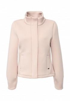 Женская розовая осенняя куртка