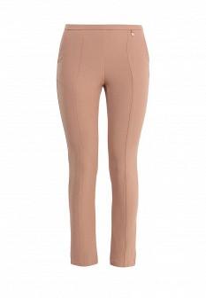 Женские бежевые осенние брюки