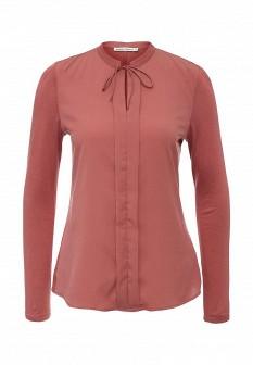 Коричневая осенняя блузка ZARINA