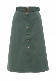 Зеленая юбка ZARINA