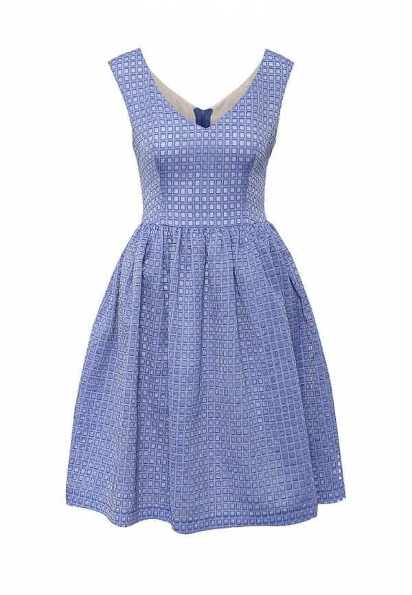 Платье-мини A-A by Ksenia Avakyan 5s17-11-фиалковый: изображение 1