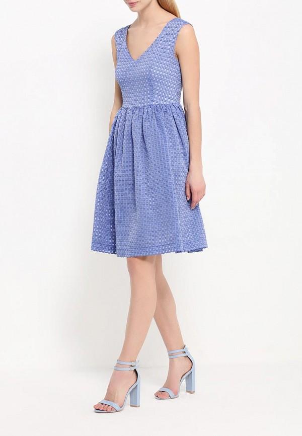 Платье-мини A-A by Ksenia Avakyan 5s17-11-фиалковый: изображение 2