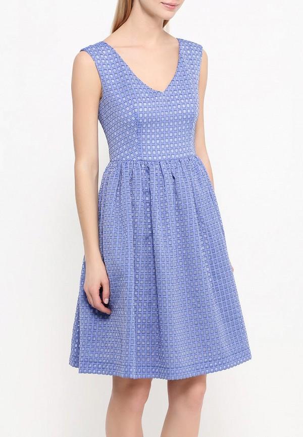 Платье-мини A-A by Ksenia Avakyan 5s17-11-фиалковый: изображение 3