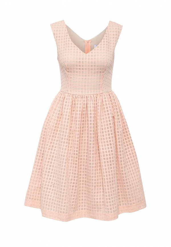 Платье-мини A-A by Ksenia Avakyan 5s17-11-персиковый: изображение 1