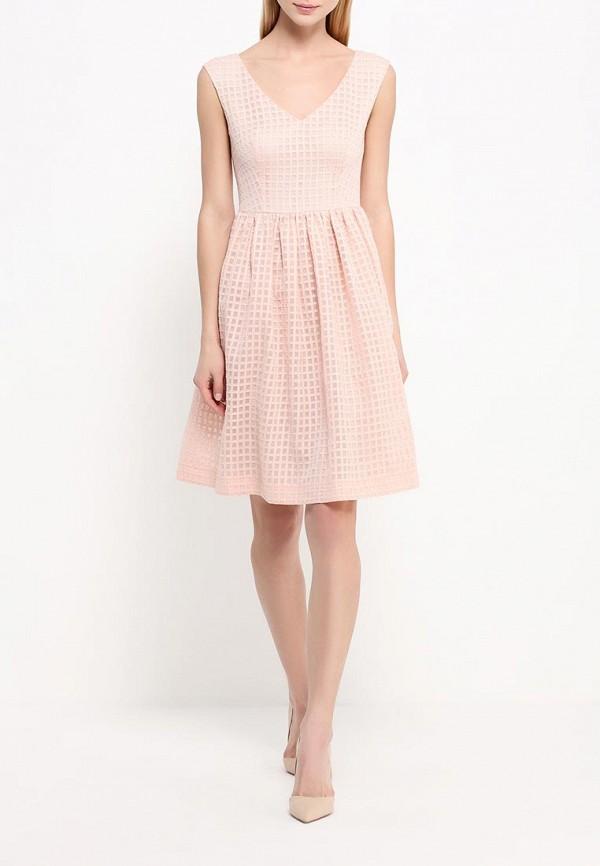 Платье-мини A-A by Ksenia Avakyan 5s17-11-персиковый: изображение 3