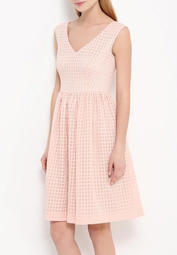 Платье-мини A-A by Ksenia Avakyan 5s17-11-персиковый: изображение 4