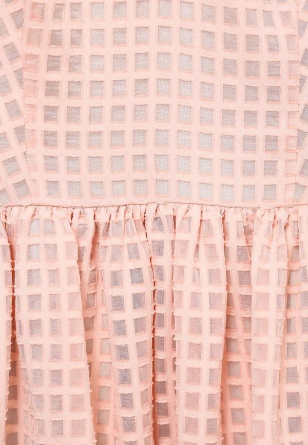Платье-мини A-A by Ksenia Avakyan 5s17-11-персиковый: изображение 6