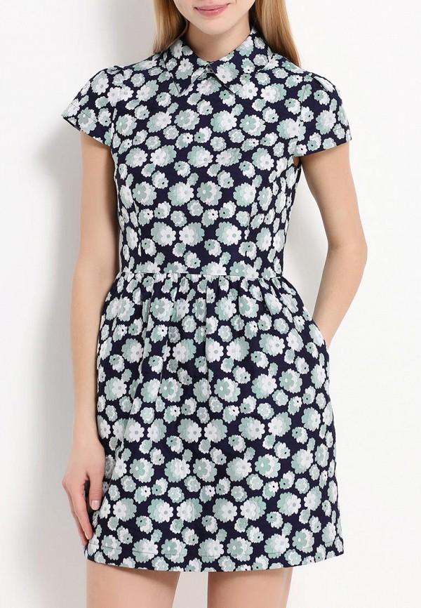 Платье-мини A-A by Ksenia Avakyan 2cps11-зеленый: изображение 4