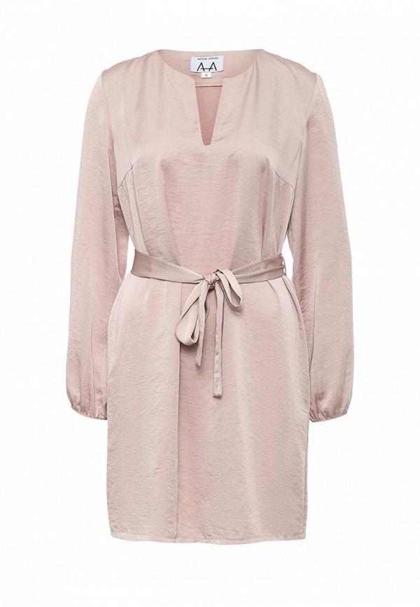 Платье-мини A-A by Ksenia Avakyan 3w17-11-розовый: изображение 1