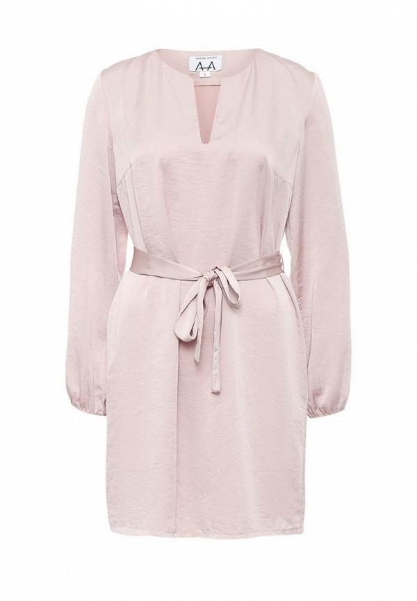 Платье-мини A-A by Ksenia Avakyan 3w17-11-розовый: изображение 2