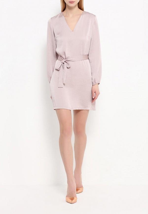 Платье-мини A-A by Ksenia Avakyan 3w17-11-розовый: изображение 3