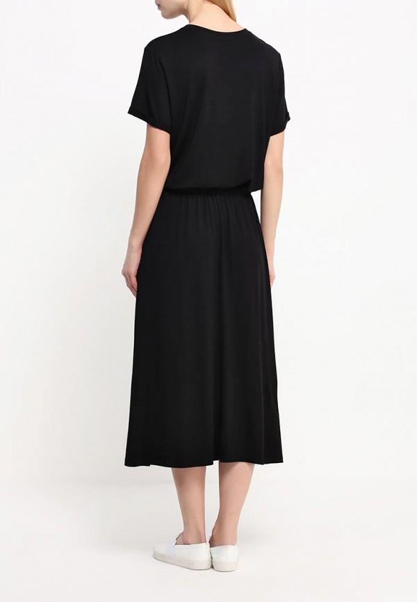 Платье-макси A-A by Ksenia Avakyan 38s6visc-черный: изображение 3