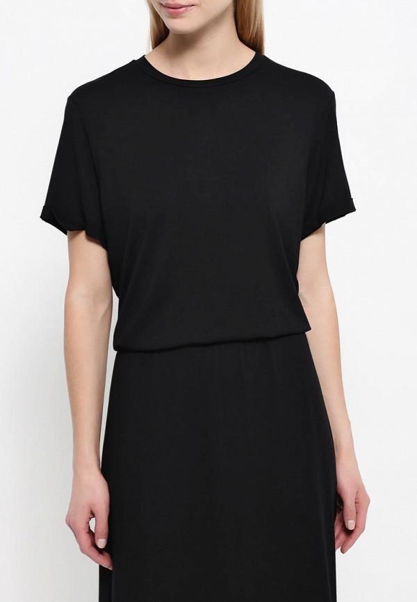 Платье-макси A-A by Ksenia Avakyan 38s6visc-черный: изображение 4