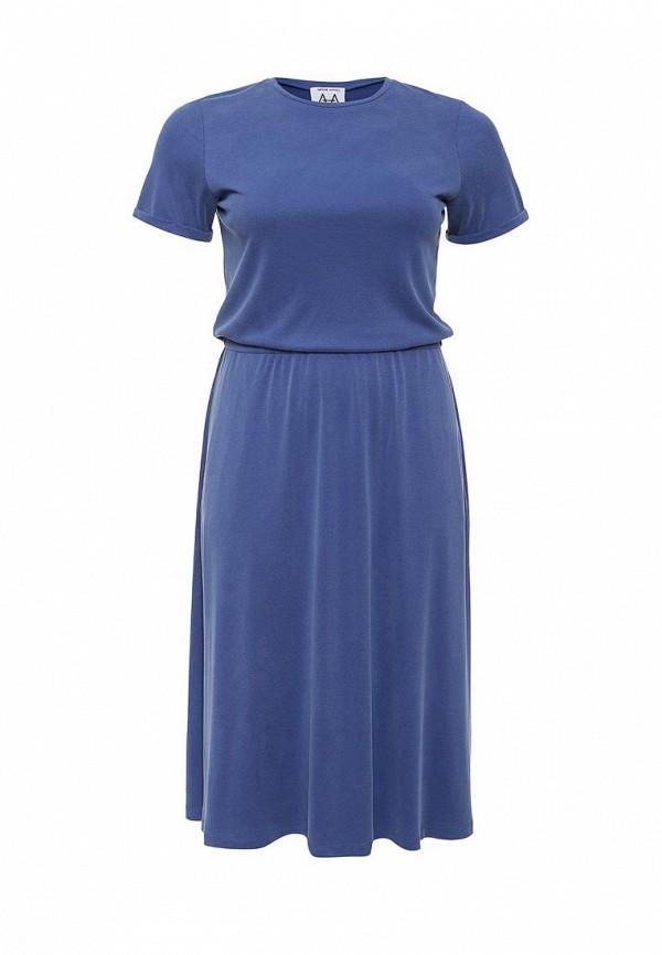 Платье-макси A-A by Ksenia Avakyan 38s6-синий