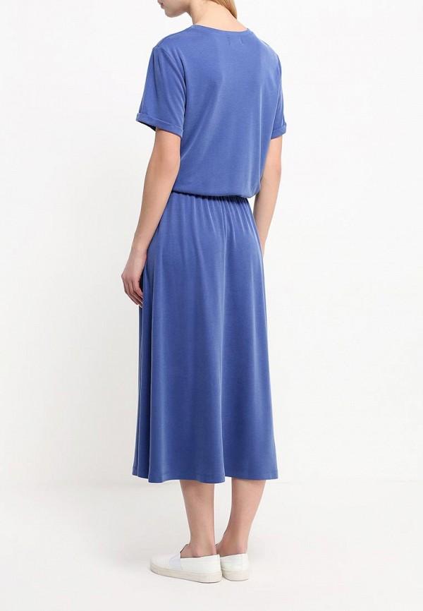 Платье-макси A-A by Ksenia Avakyan 38s6-синий: изображение 3
