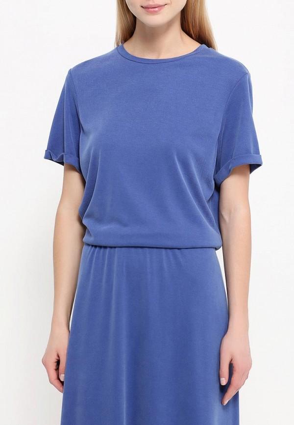 Платье-макси A-A by Ksenia Avakyan 38s6-синий: изображение 4