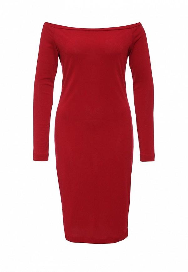 Платье-миди A-A by Ksenia Avakyan 18w11-бордовый