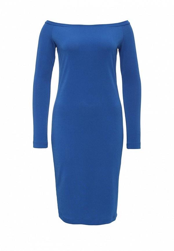 Платье-миди A-A by Ksenia Avakyan 18w11-синий: изображение 1