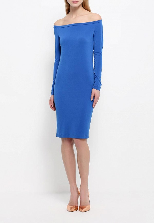 Платье-миди A-A by Ksenia Avakyan 18w11-синий: изображение 2