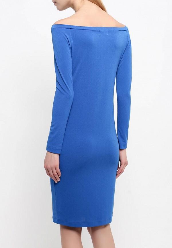 Платье-миди A-A by Ksenia Avakyan 18w11-синий: изображение 4