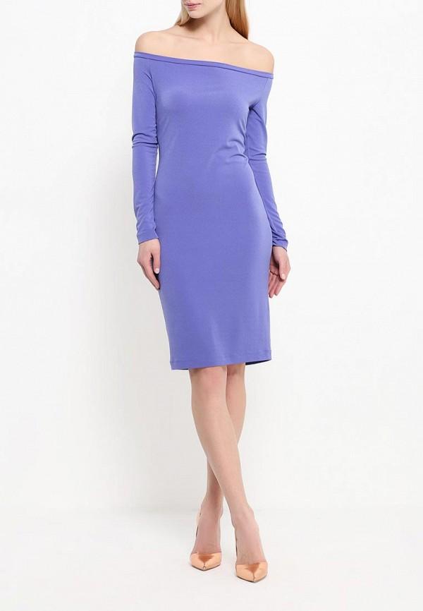 Платье-миди A-A by Ksenia Avakyan 18w11-фиолетовый: изображение 2