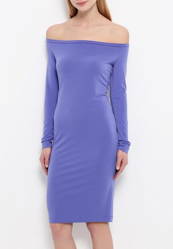 Платье-миди A-A by Ksenia Avakyan 18w11-фиолетовый: изображение 3
