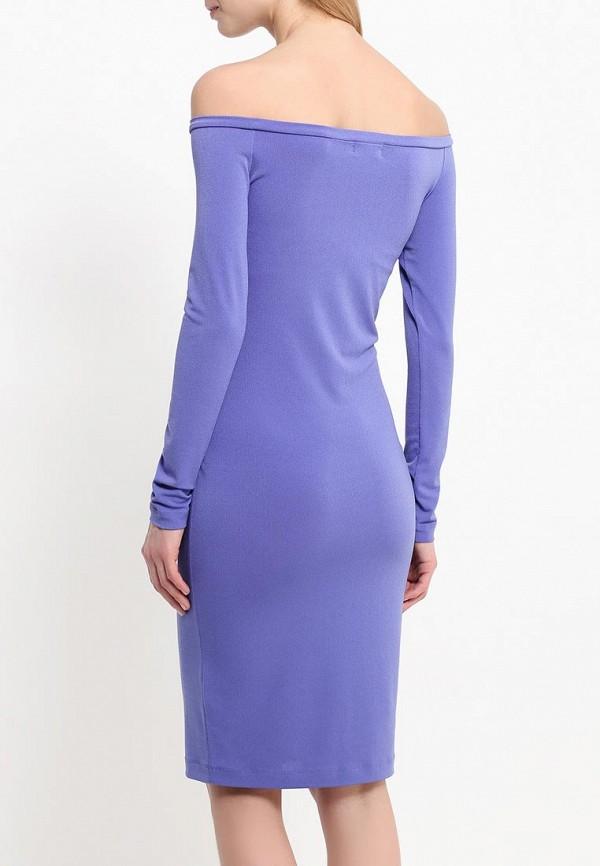 Платье-миди A-A by Ksenia Avakyan 18w11-фиолетовый: изображение 4