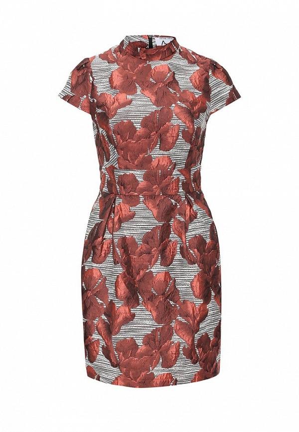 Платье-мини A-A by Ksenia Avakyan 3cps11-красный: изображение 1