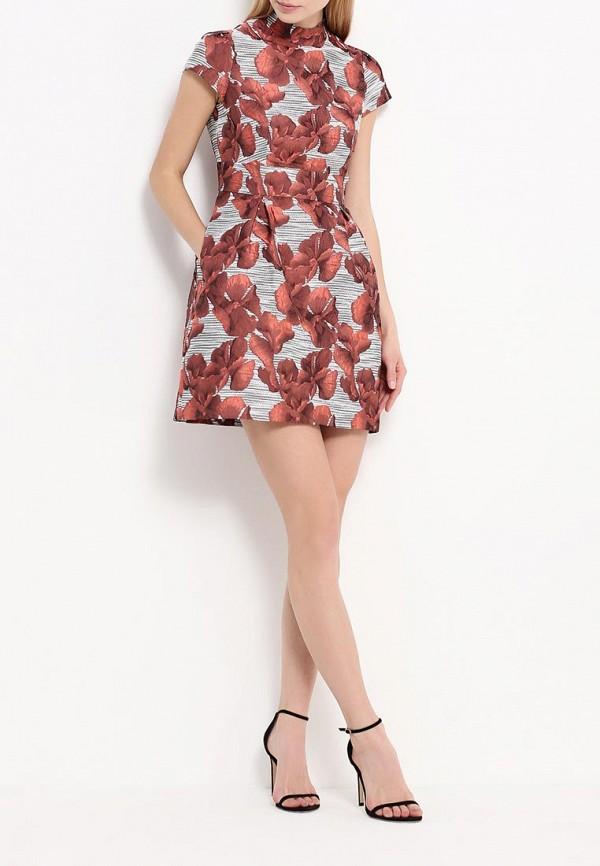 Платье-мини A-A by Ksenia Avakyan 3cps11-красный: изображение 3