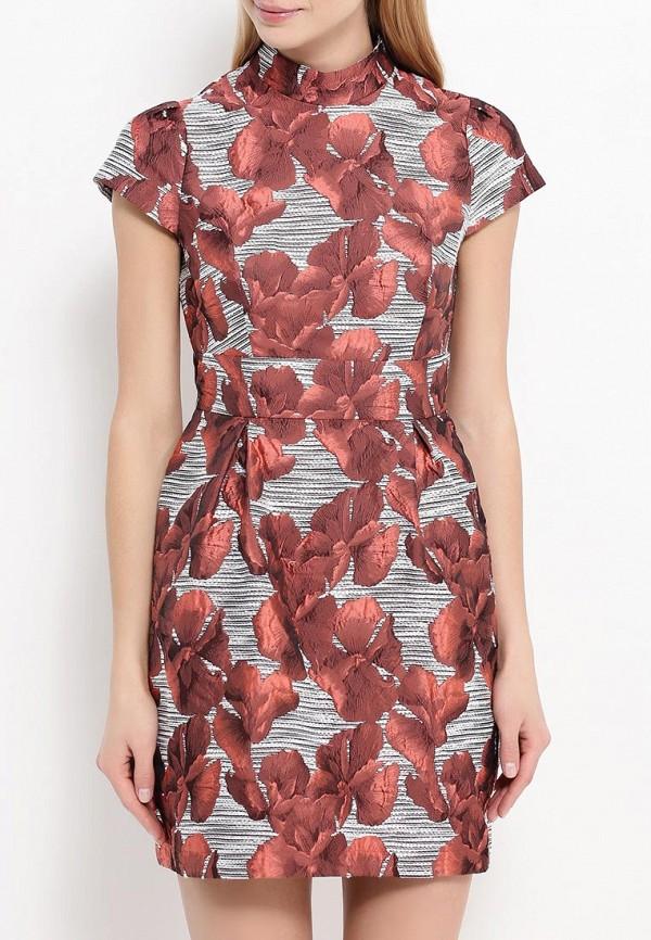 Платье-мини A-A by Ksenia Avakyan 3cps11-красный: изображение 4