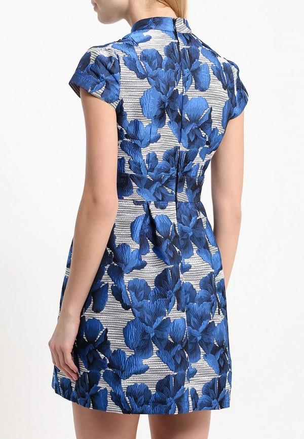 Платье-мини A-A by Ksenia Avakyan 3cps11-синий: изображение 5