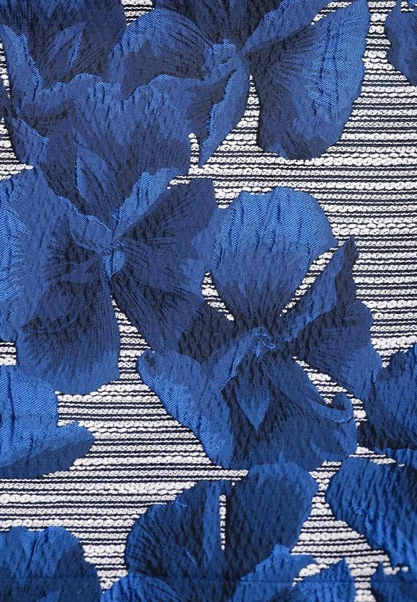 Платье-мини A-A by Ksenia Avakyan 3cps11-синий: изображение 6