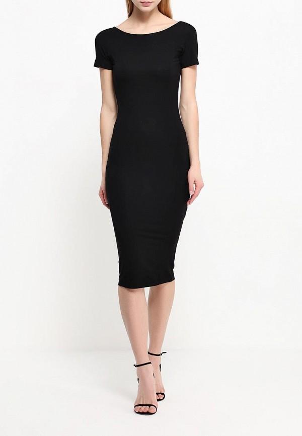 Платье-миди A-A by Ksenia Avakyan lk11-черный: изображение 2