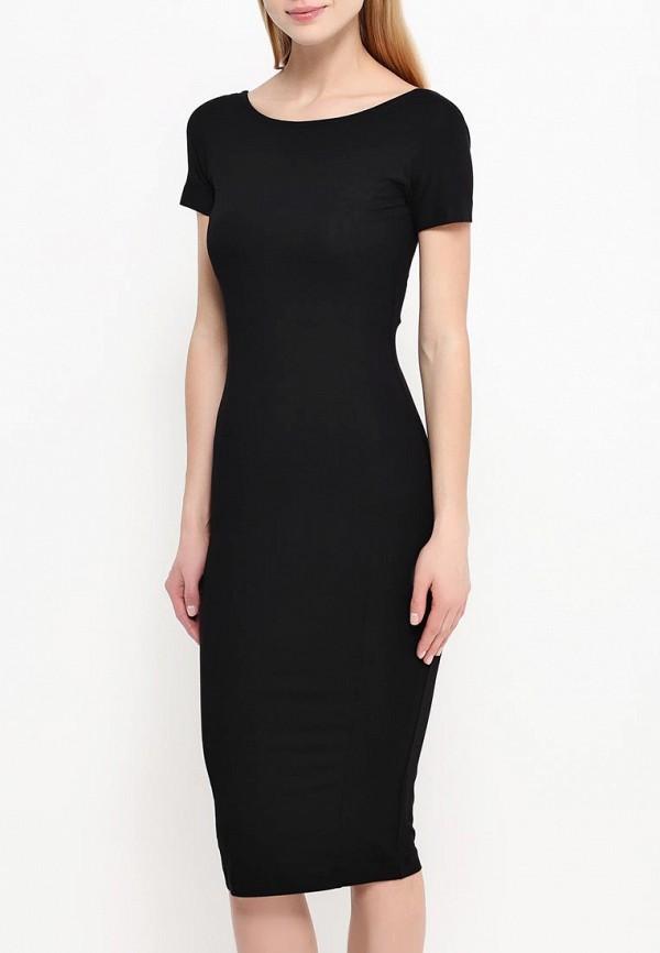 Платье-миди A-A by Ksenia Avakyan lk11-черный: изображение 3