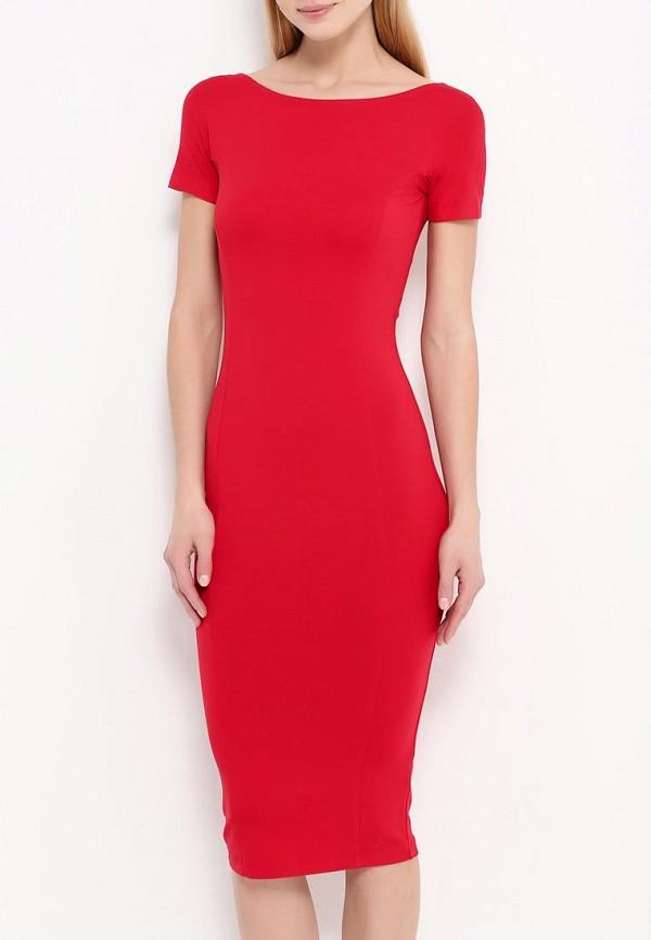 Платье-миди A-A by Ksenia Avakyan lk11-красный: изображение 3