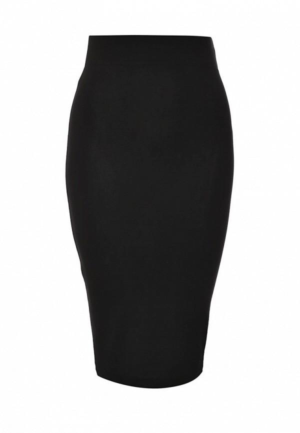 Миди-юбка A-A by Ksenia Avakyan 3w6-черный: изображение 1