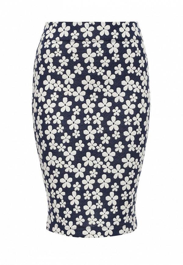 Миди-юбка A-A by Ksenia Avakyan 3w6-цветы: изображение 1