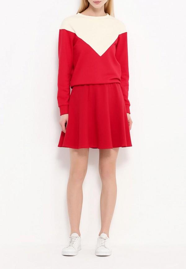 Мини-юбка A-A by Ksenia Avakyan 37s6-красный: изображение 3