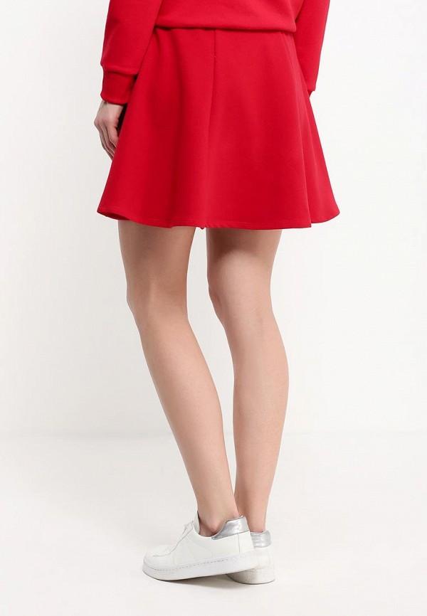 Мини-юбка A-A by Ksenia Avakyan 37s6-красный: изображение 5