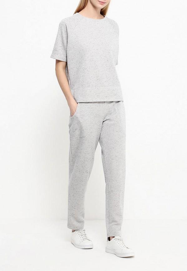 Женские спортивные брюки A-A by Ksenia Avakyan 4w7-серыйлюр: изображение 2
