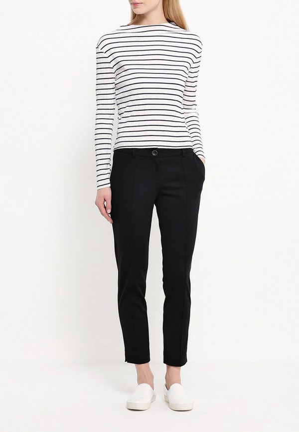 Женские повседневные брюки A-A by Ksenia Avakyan 7w8-черный: изображение 2