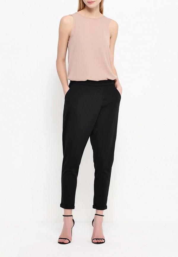 Женские зауженные брюки A-A by Ksenia Avakyan 8w8-черный: изображение 2