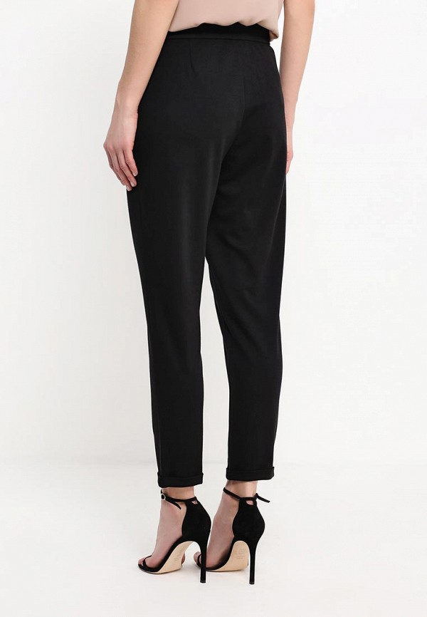 Женские зауженные брюки A-A by Ksenia Avakyan 8w8-черный: изображение 4