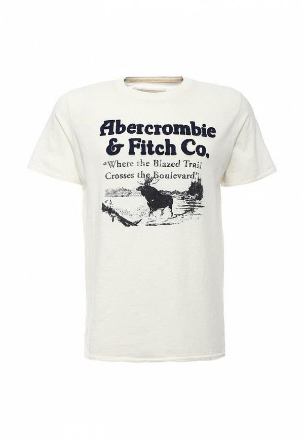 Футболка с надписями Abercrombie & Fitch A00132