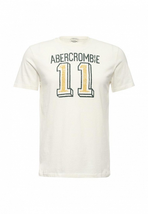 Футболка с надписями Abercrombie & Fitch A00012