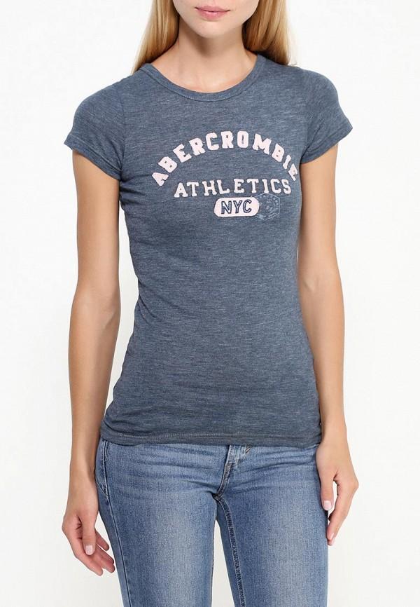 Футболка с надписями Abercrombie & Fitch е001WC0219012: изображение 3