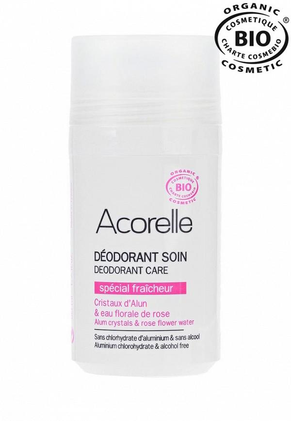 Роликовый дезодорант Acorelle Минеральный освежающий  РОЗОВАЯ ВОДА