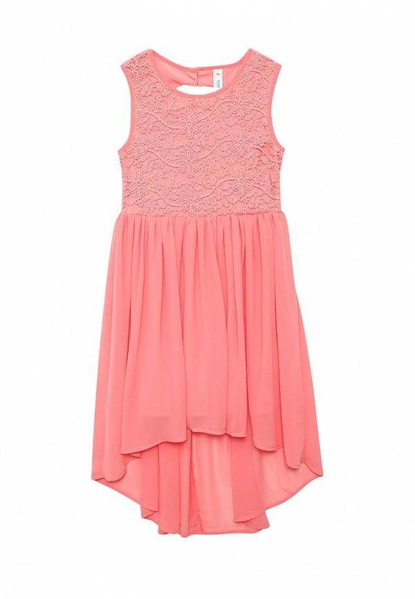 Платье Acoola. Цвет: коралловый