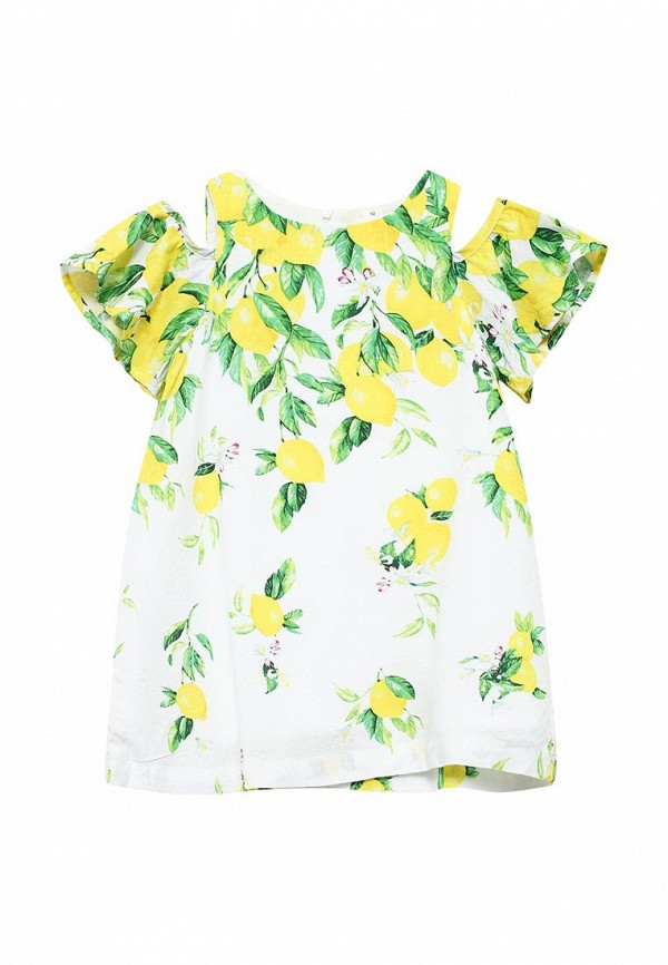 Платье Acoola. Цвет: белый